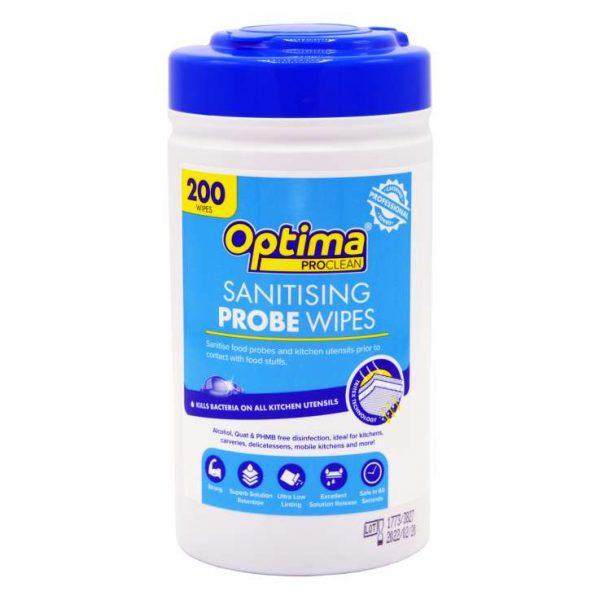 PWS200-OPT_Optima_Sanitizing_Probe _Wipes_200